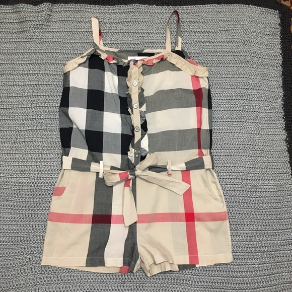 83be31567033 Burberry One Pieces | Girls Romper 10y | Poshmark